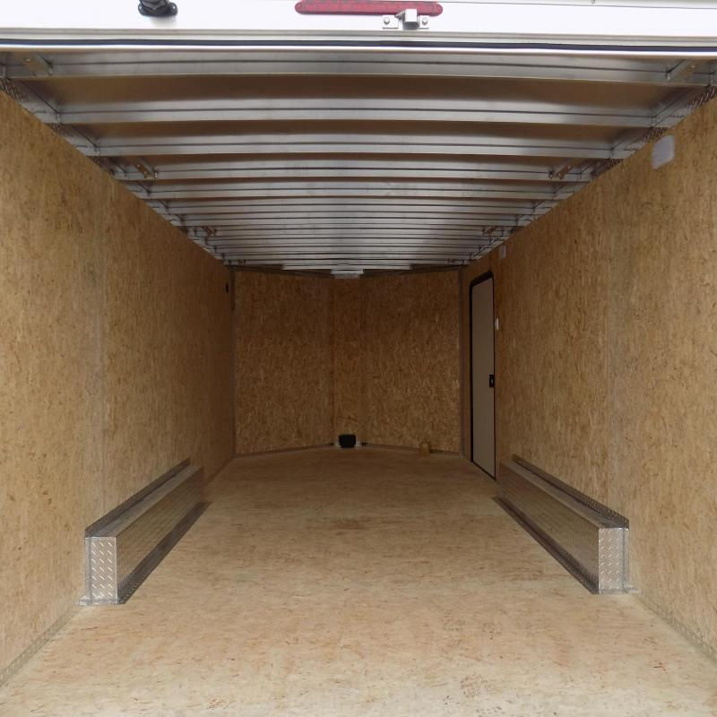New Legend FTV 8' x 19' Heavy Duty Aluminum Contractor Trailer - Professional Grade 8' Wide Trailer - Door Mounted Rear Ramps
