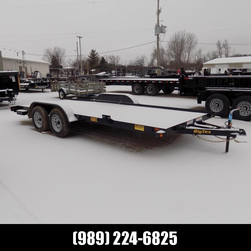 New Big Tex Trailers 7' x 18' Car Hauler - $0 Down & Payment From Just $63/mo W.A.C. - CLEARANCE UNIT - NOT SUBSTITUATIONS