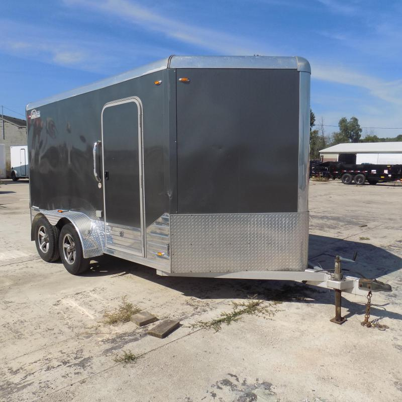 Used Legend Deluxe 7' x 15' Aluminum Enclosed Cargo Trailer For Sale