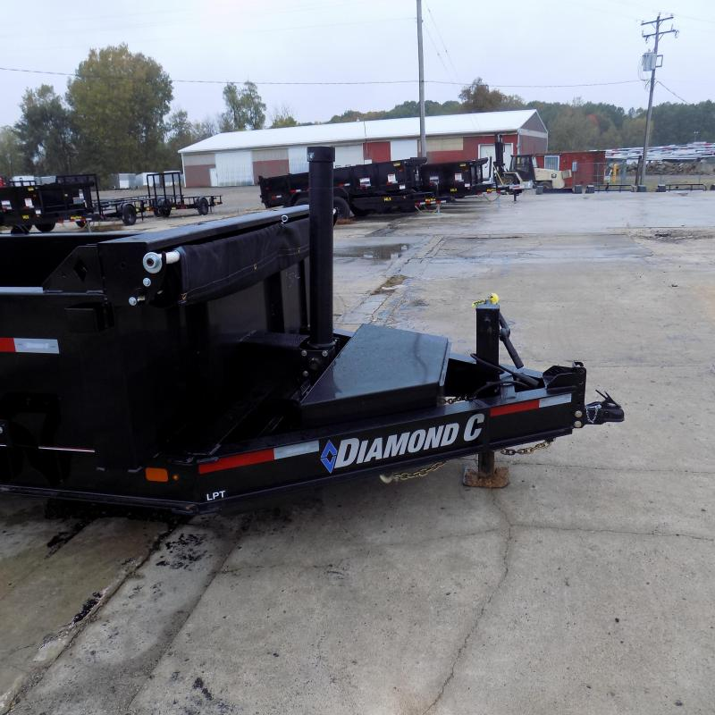 "New Diamond C Trailers 82"" x 14' Low Profile Dump Trailer W/ Telescopic Lift - Payments from $135/mo. with $0 Down W.A.C."