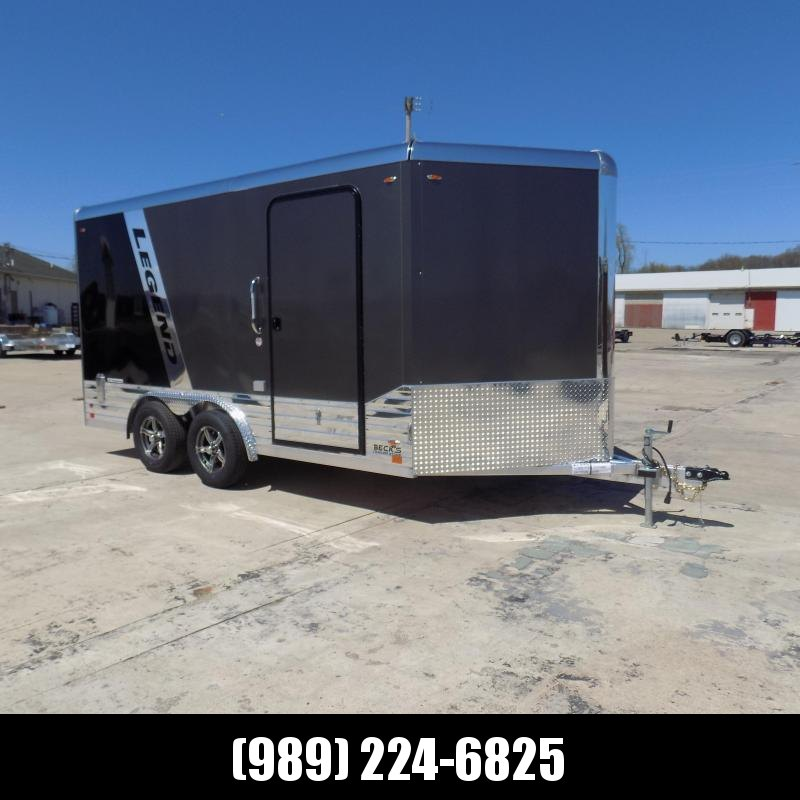 New Legend Deluxe V-Nose 8' x 17' Enclosed Cargo Trailer - $0 Down & Payments from $145/mo. W.A.C.