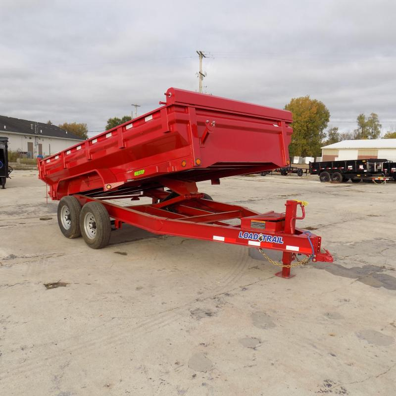 "New Load Trail DT14 83"" x 14' Dump Trailer - Flared Sides - Payments from $129/mo. with $0 Down W.A.C."