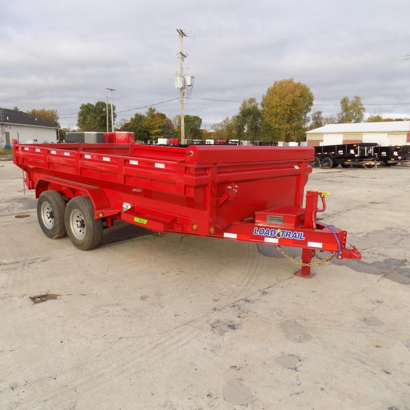 """New Load Trail DT14 83"""" x 14' Dump Trailer - Flared Sides - Payments from $129/mo. with $0 Down W.A.C."""