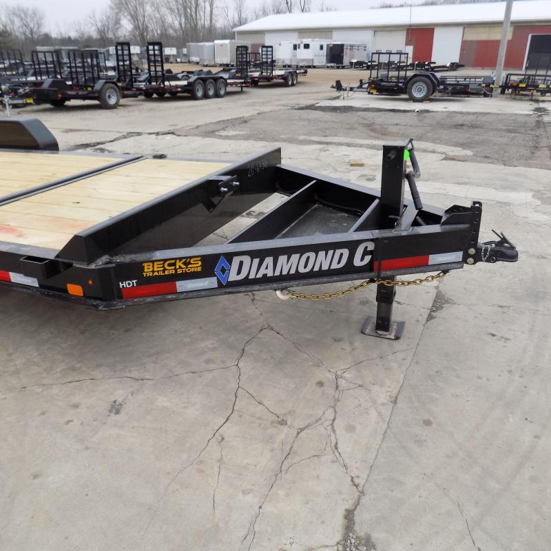 """New Diamond C Trailers 82"""" x 20' Tilt Deck Equipment Trailer - $0 Down & Payments from $125/mo. W.A.C."""