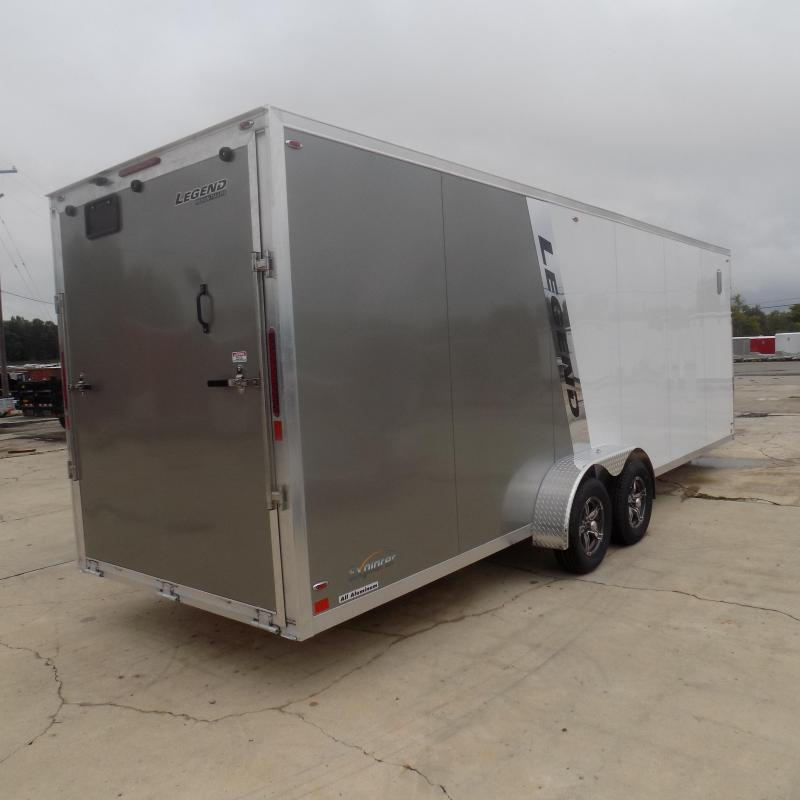 New Legend Explorer 7' x 29' Snowmobile Trailer From $169/mo. W.A.C - Guaranteed Best Deal