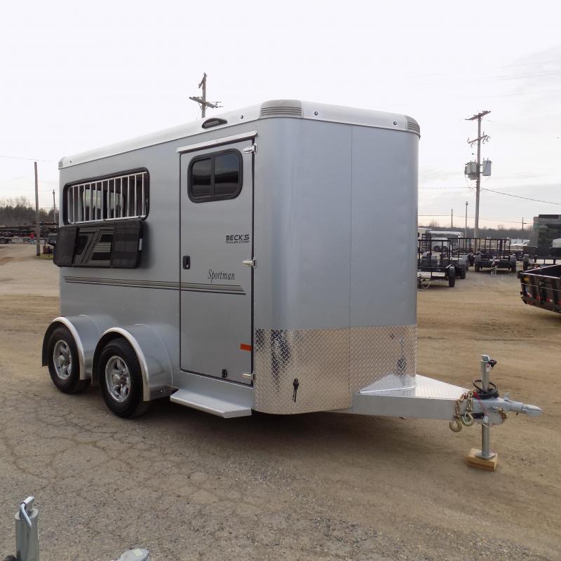 New Sundowner Sportman Slant Load 2 Horse Trailer For Sale - $o Down & $179/mo. W.A.C.