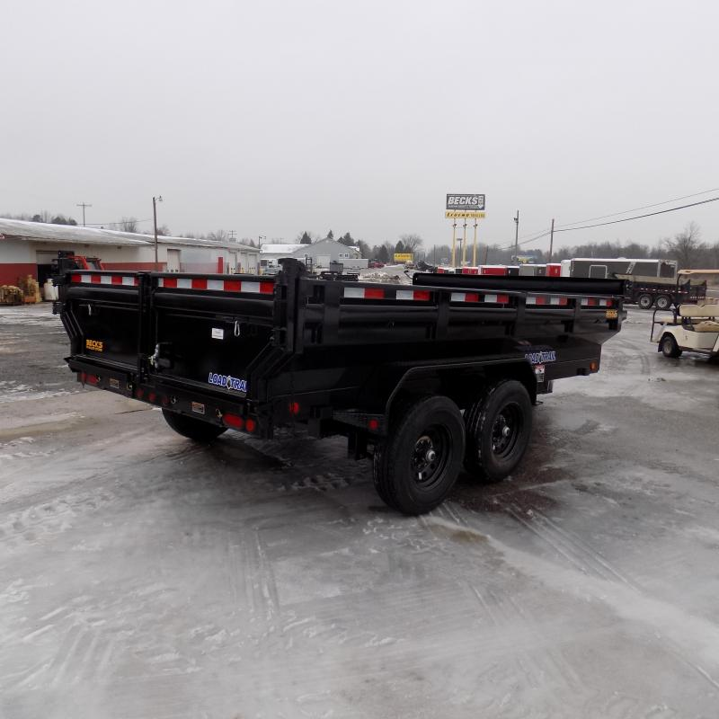 "New Load Trail 83"" x 14' Dump Trailer - Flared Sides - Payments from $119/mo. with $0 Down W.A.C."