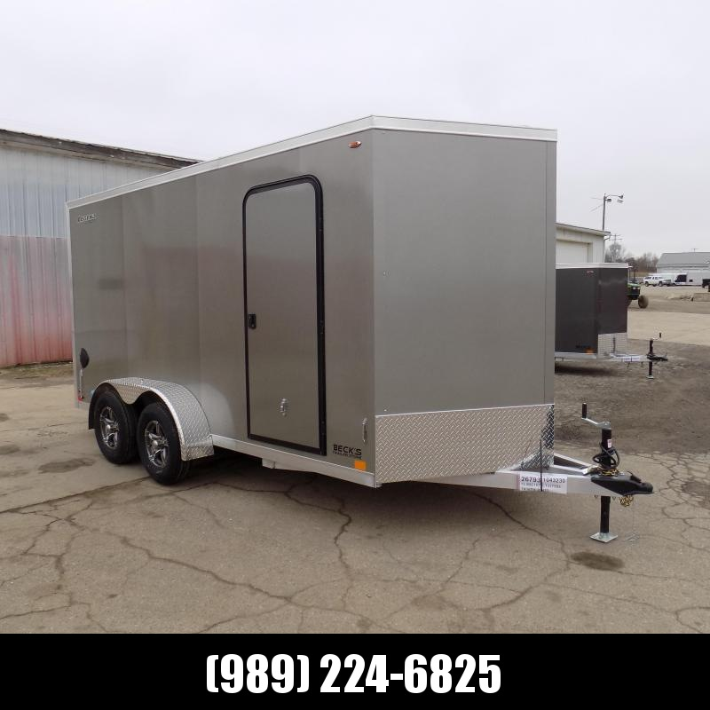 New Legend Thunder 7' X 16' Aluminum Enclosed Cargo Trailer For Sale - $0 Down Payments From $111/Mo W.A.C