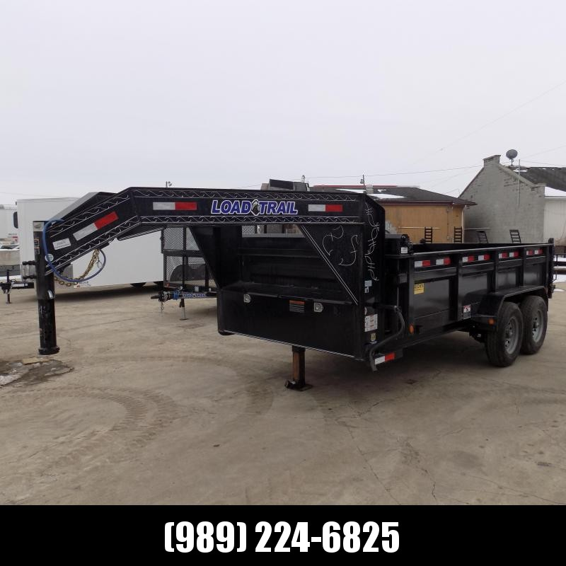 "New Load Trail 83"" X 14' Gooseneck Dump Trailer For Sale- $0 Down Payments From $113/mo W.A.C."