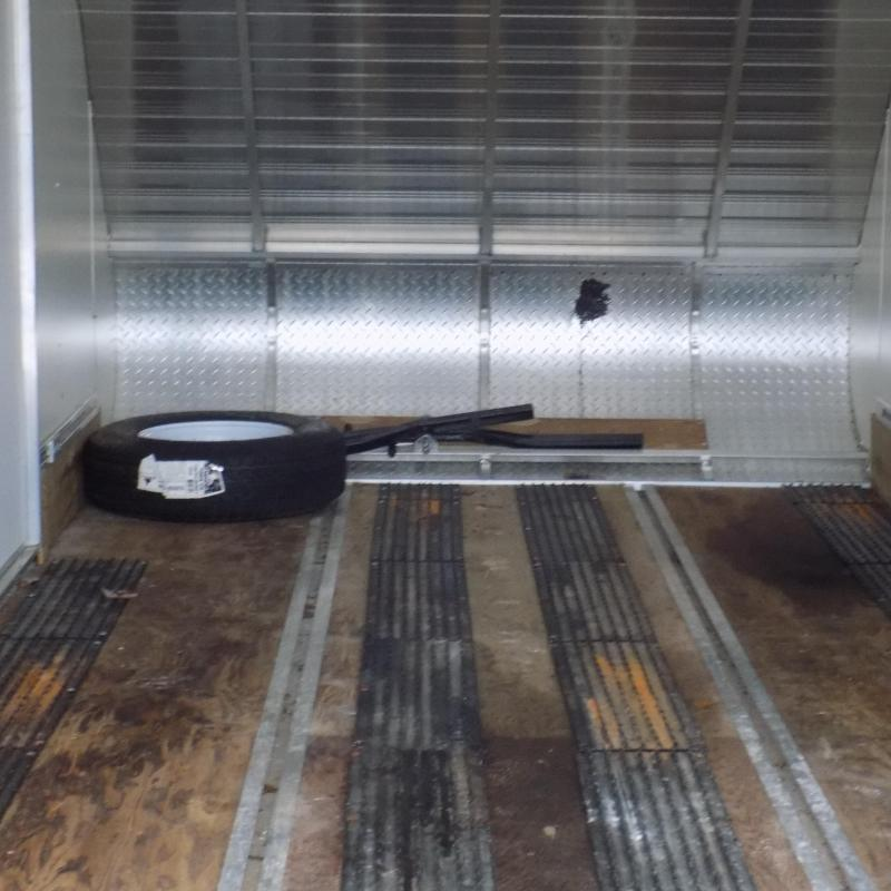 Used Trition Aluminum 7' x 16' Snowmobile Trailer For Sale