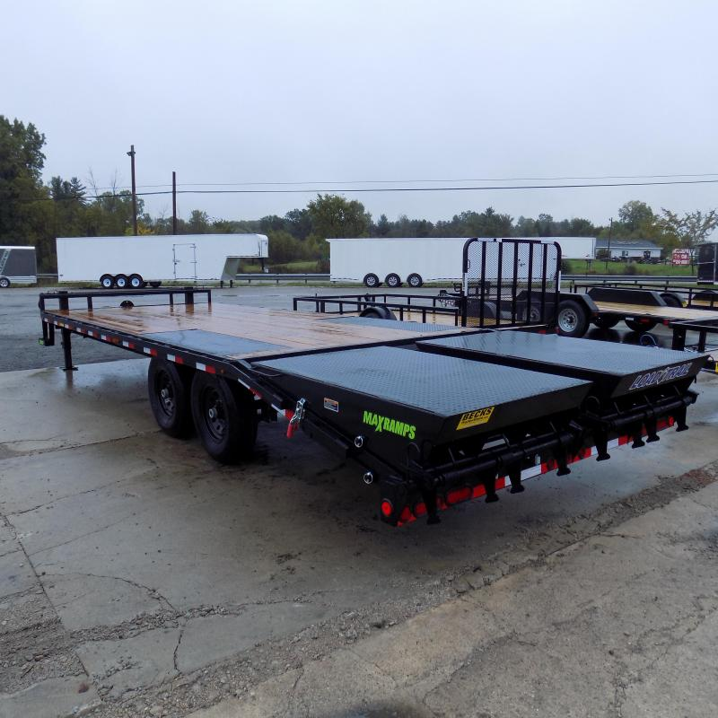 """New Load Trail 102"""" x 24' Deckover Trailer For Sale - $0 Down & Payments From $145/mo. W.A.C."""