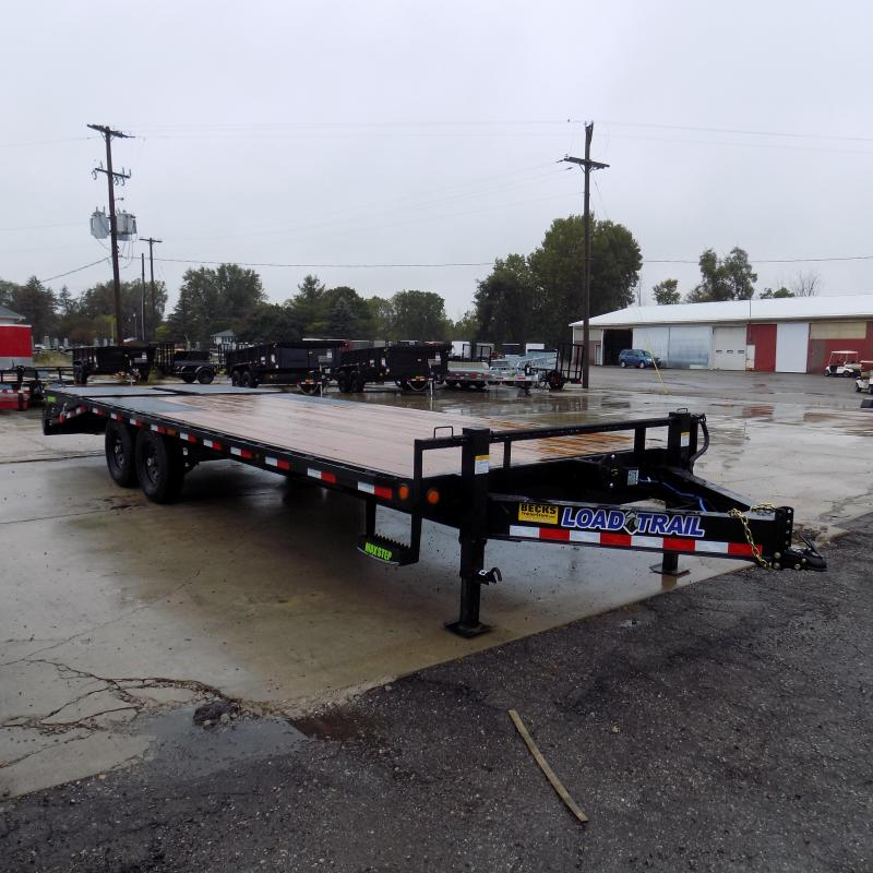 "New Load Trail 102"" x 24' Deckover Trailer For Sale - $0 Down & Payments From $145/mo. W.A.C."