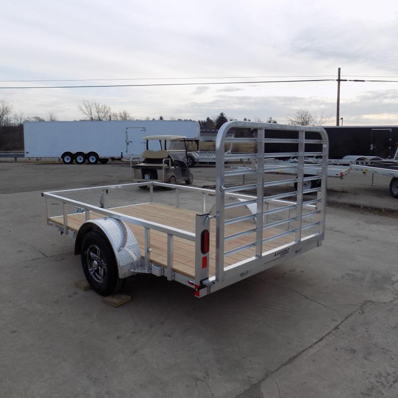 New Legend Open Deluxe 6' X 10' Aluminum Utility Trailer - $0 Down Payments From $70/mo W.A.C.