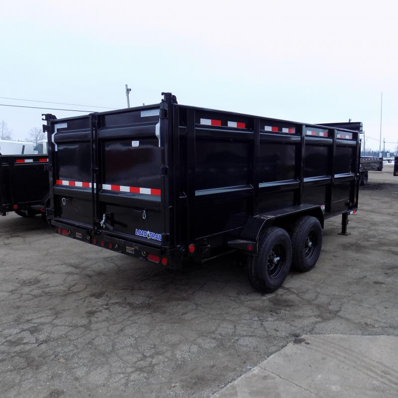 "New Load Trail 83"" x 16' Tandem Axle Gooseneck Dump Trailer w/ 48"" Sides - Payments from $139/mo. with $0 Down W.A.C."