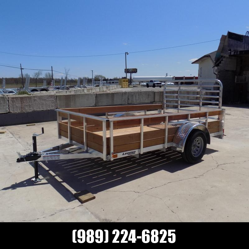 New Legend 6' x 10' 3 Board High Side Aluminum Utility Trailer