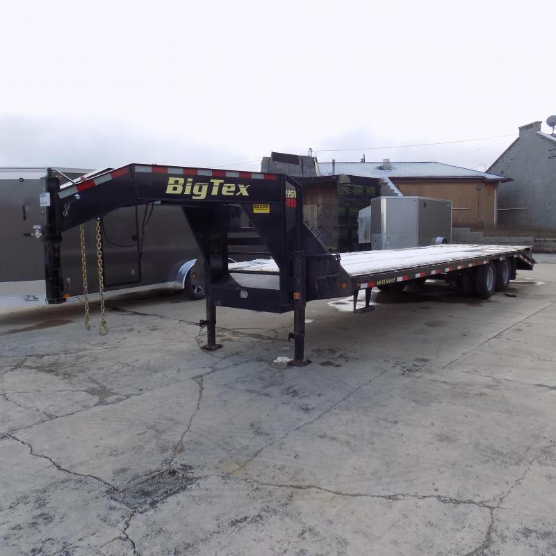 "Used Big Tex 102"" x 25' + 5' Gooseneck Trailer for Sale - Great Shape!"