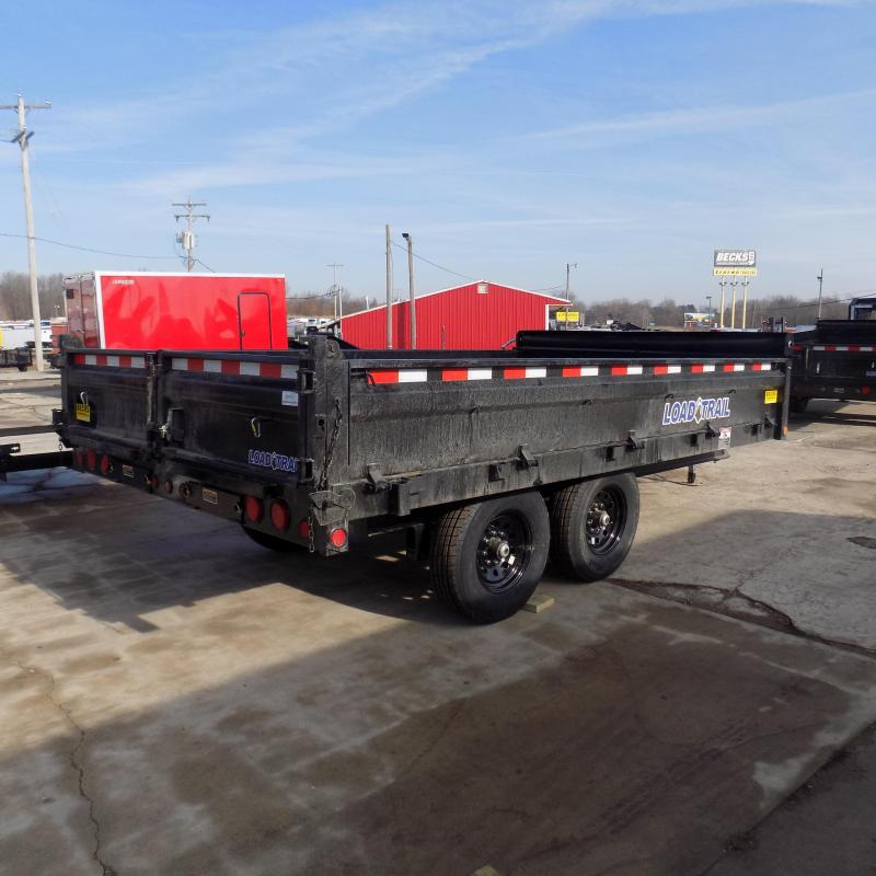 """New Load  Dump Trailer 96"""" x 14 Deckover Dump Trailer With Fold-Down Sides - $0 Down & Payments From $119/mo W.A.C."""