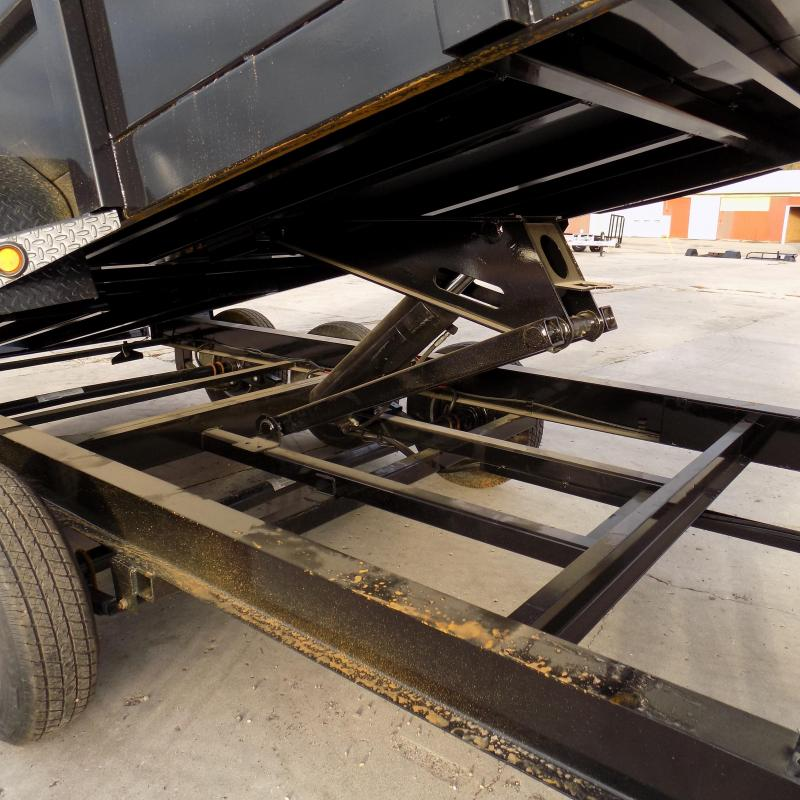 """New Load Trail 83"""" x 16' Triple Axle Gooseneck Dump Trailer w/ 48"""" Sides - Payments from $175/mo. with $0 Down W.A.C."""