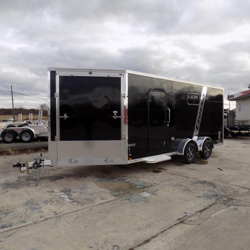 New Legend Explorer 7' x 23' Snowmobile Trailer - $0 Down Payments From $159/mo with $0 Down W.A.C - Best Deal Guarantee
