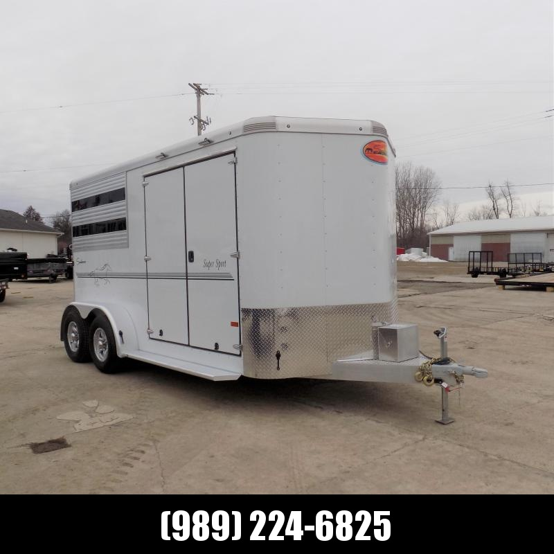 New Sundowner Trailers Aluminum Slant Load 2 Horse Trailer w/ Super Tack Room - $0 Down & Payments from $143/mo. W.A.C.