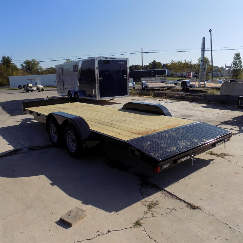 """New Rice Trailers 82"""" x 20' Open Car Hauler - Payments From $75/mo. W.A.C. - Best Deal Guarantee"""