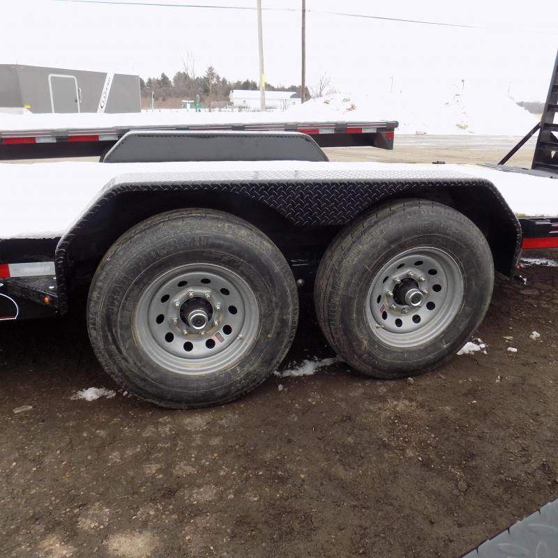 """New Diamond C Trailers 82"""" x 24' Equipment Trailer For Sale - Flexible Financing Options From $103/mo. W.A.C."""