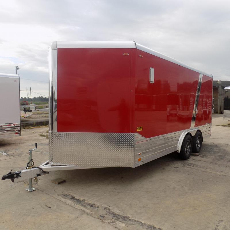 New Legend Deluxe V-Nose 8' x 19' Enclosed Cargo Trailer - Loaded With Features