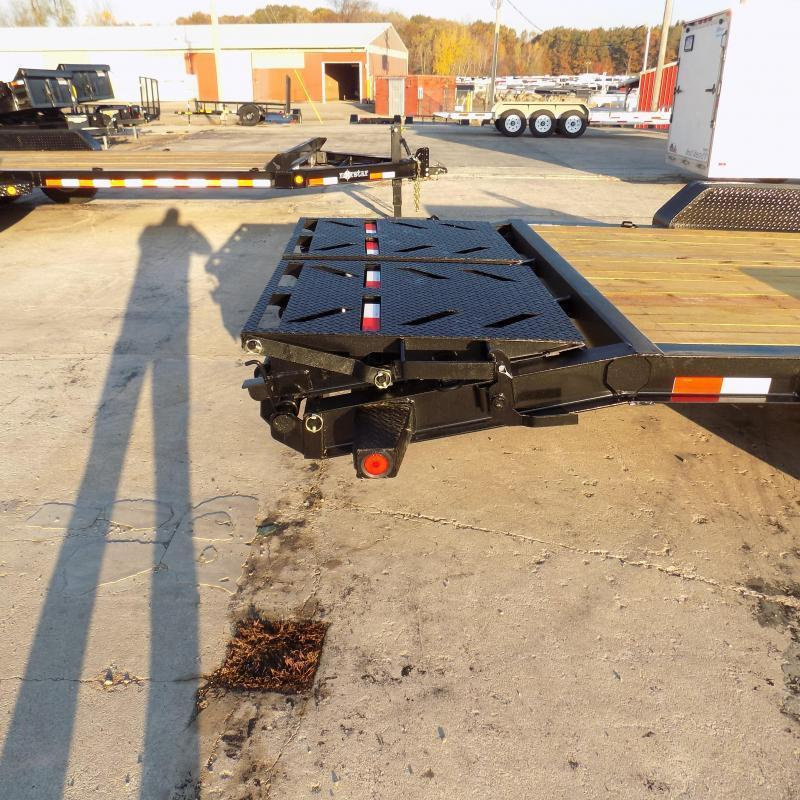 """New Norstar 83"""" x 20' Equipment Trailer - $0 Down & Payments From $125/mo. W.A.C. - Best Deal Guarantee"""