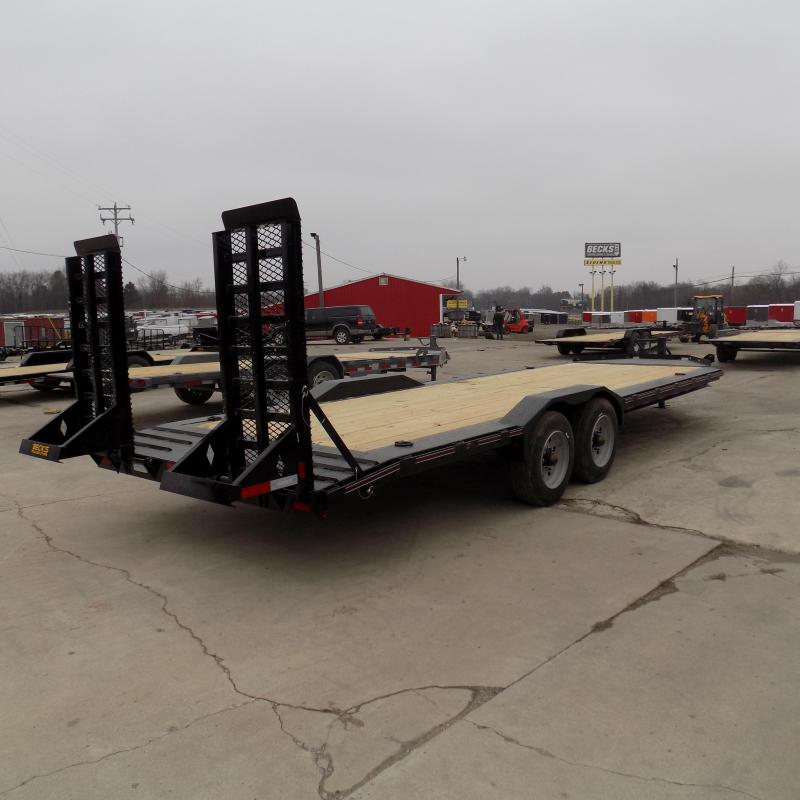"""New Diamond C Trailers 82"""" x 24' Heavy Duty Equipment Trailer - 10K Axles - $0 Down & Payments from $159/mo. W.A.C."""