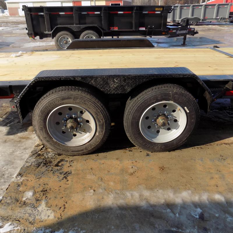 """New Diamond C Trailers 82"""" x 24' Heavy-Duty Tilt Deck Equipment Trailer - 10K Axles - $0 Down & Payments from $151/mo. W.A.C."""