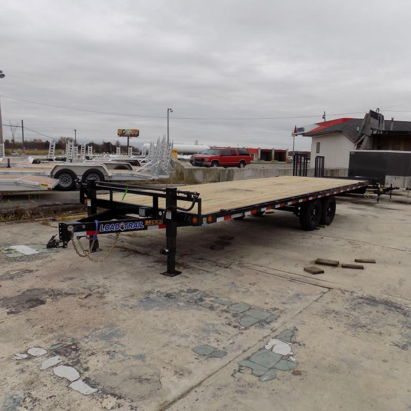 "New Load Trail DK14 102"" x 24' Deckover Trailer for Sale - $0 Down & Payments From $109/mo. W.A.C. - Best Deal Guarantee"