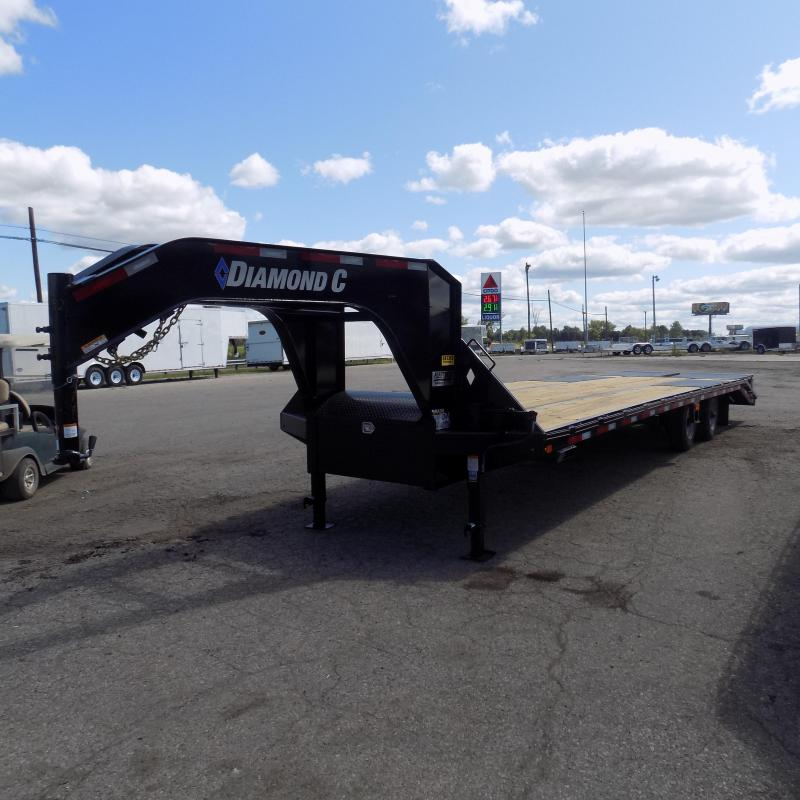 "New Diamond C Trailers 102"" x 30' Gooseneck Equipment Trailer"