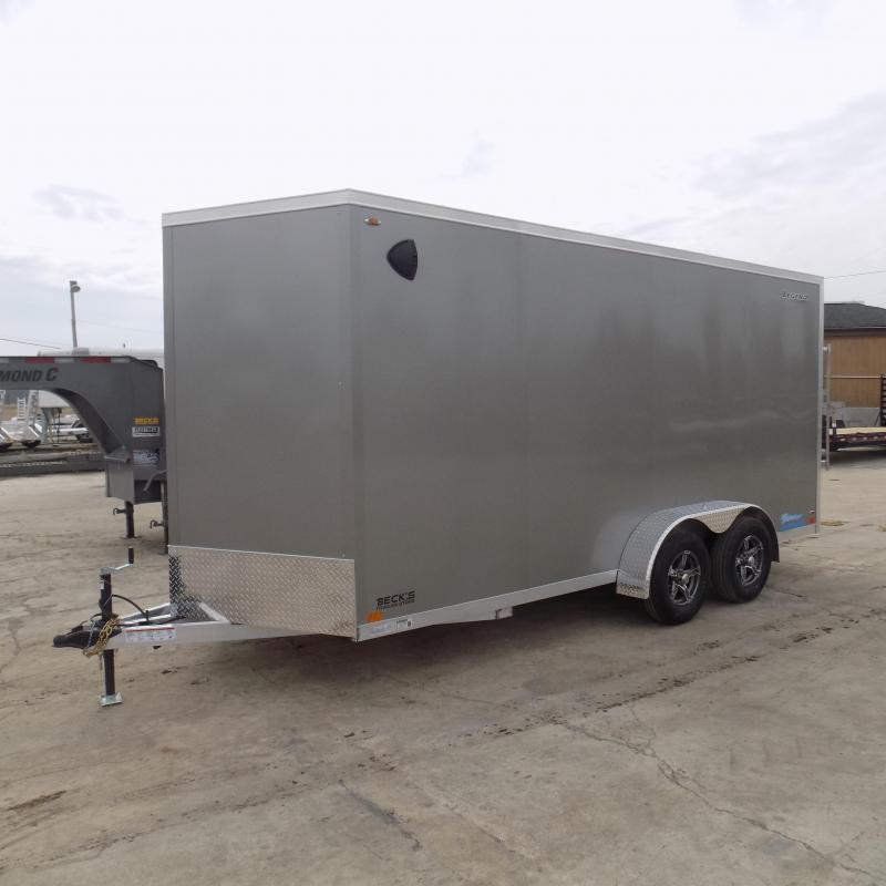 New Legend Thunder 7' x 18' Aluminum Enclosed Cargo Trailer For Sale- $0 Down Payments From $125/mo W.A.C.