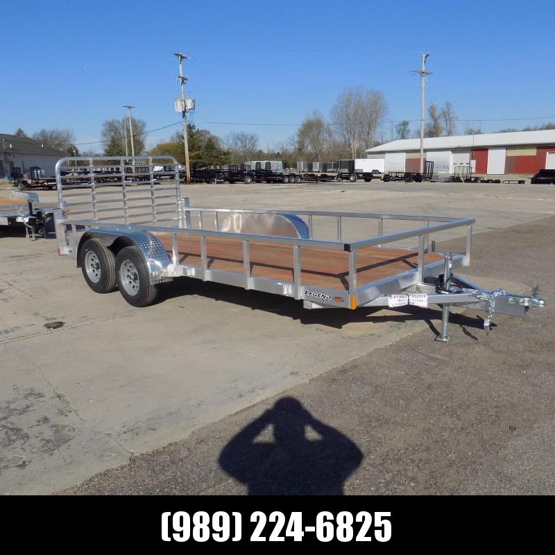 New Legend Open Deluxe 7' x 16' Aluminum Utility  - $0 Down & Payments From $99/mo. W.A.C.
