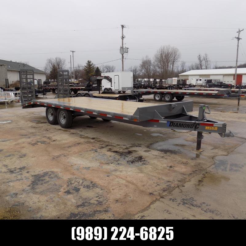"New Diamond C Trailers 102"" x 22' Deckover Equipment Trailer For Sale - $0 Down & Payments From $117/mo. W.A.C."