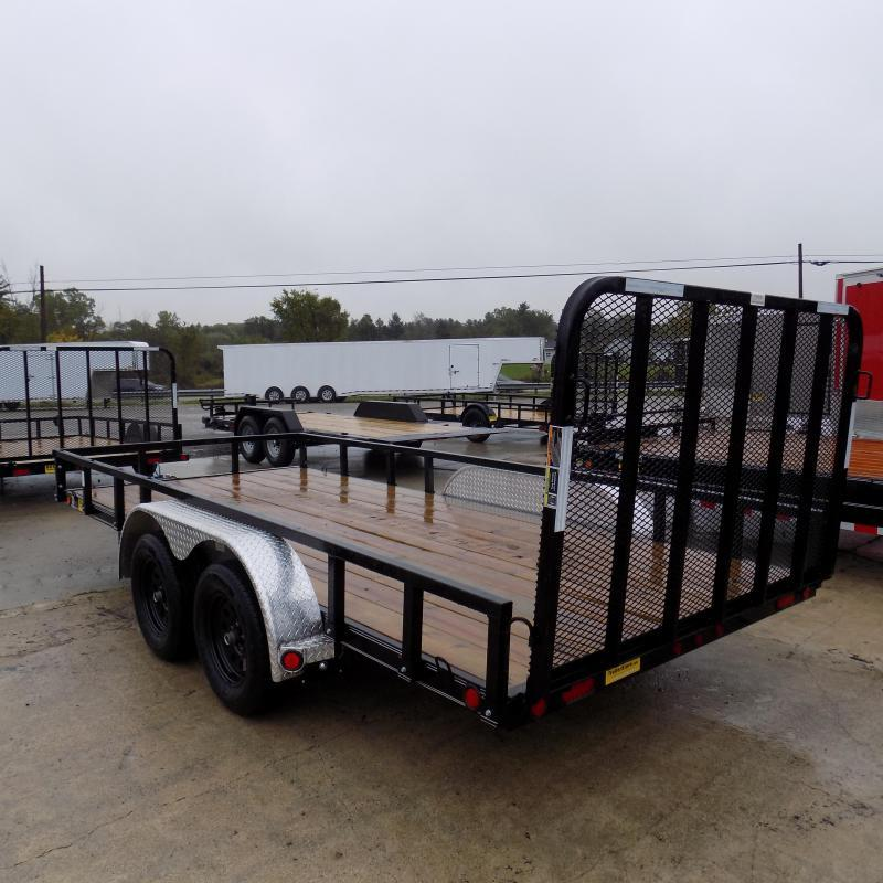"""New Load Trail UT 83"""" x 16' Open Utility Trailer for Sale - Best Deal Guarantee"""