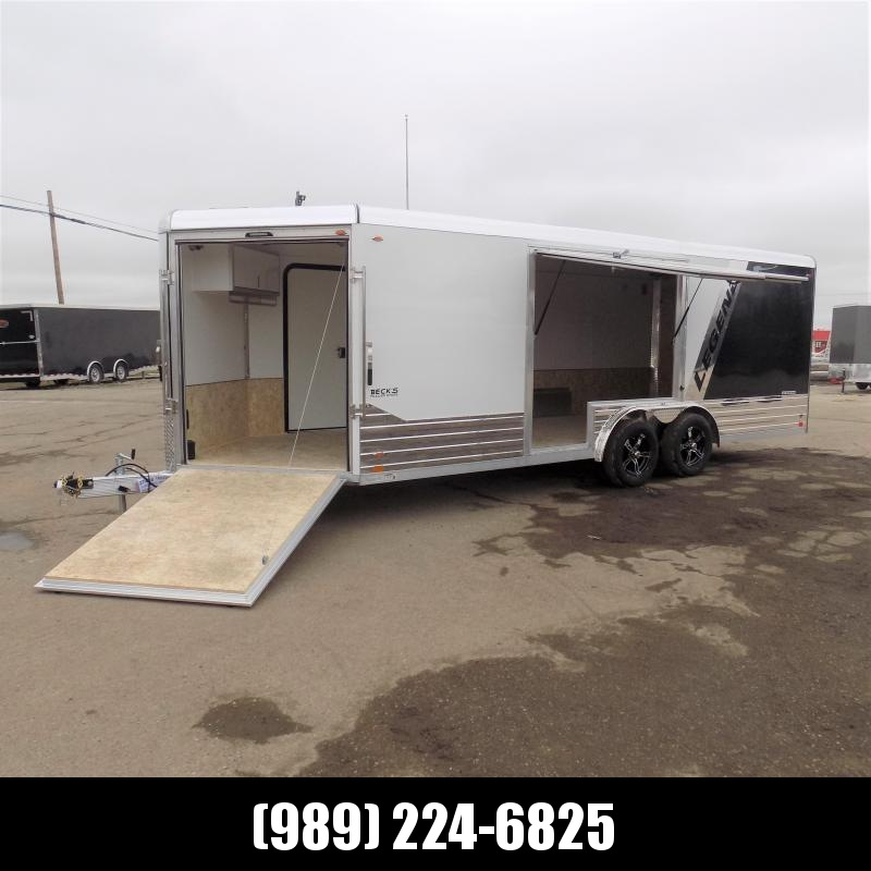 New Legend Deluxe Snow 8' x 24' All Sport Trailer - Perfect To Haul All Your Toys! $0 Down