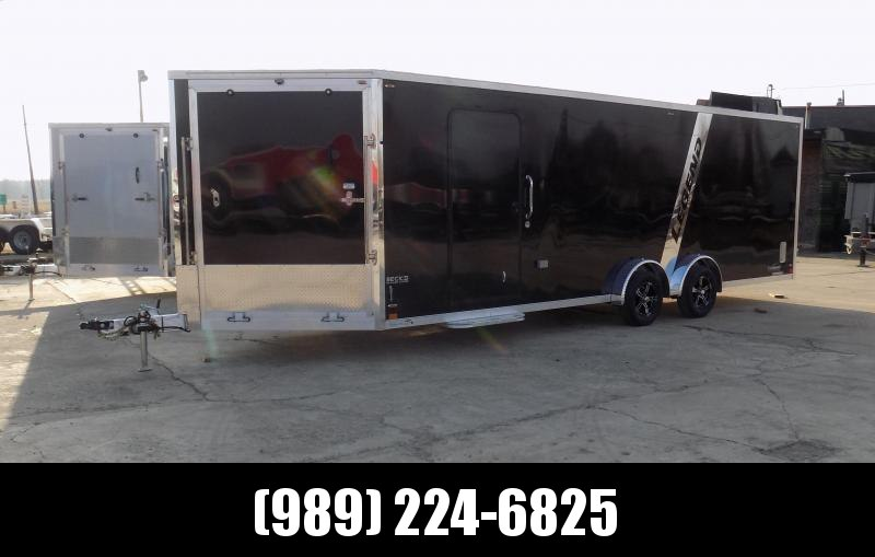 New Legend Explorer 7.5' x 29' Snowmobile Trailer - New 7.5' Wide Model Has NO Interior Wheel Wells! THIS UNIT IS SOLD - CALL FOR SPECIAL ORDER OPTIONS & PRICING