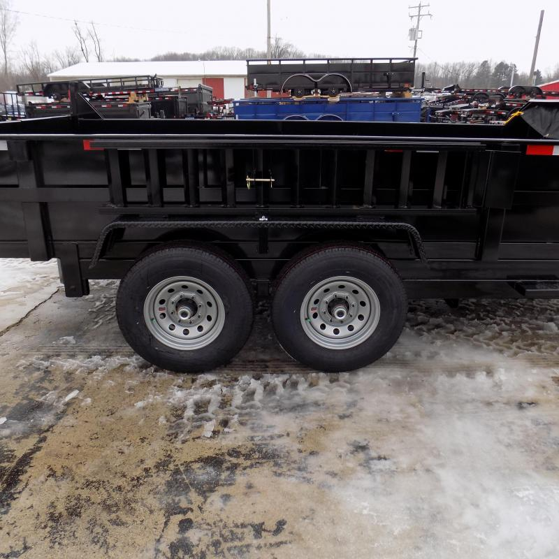 New DuraDump 7' x 14' Gooseneck Dump Trailer For Sale - $0 Down & Payments From $139/mo. W.A.C.