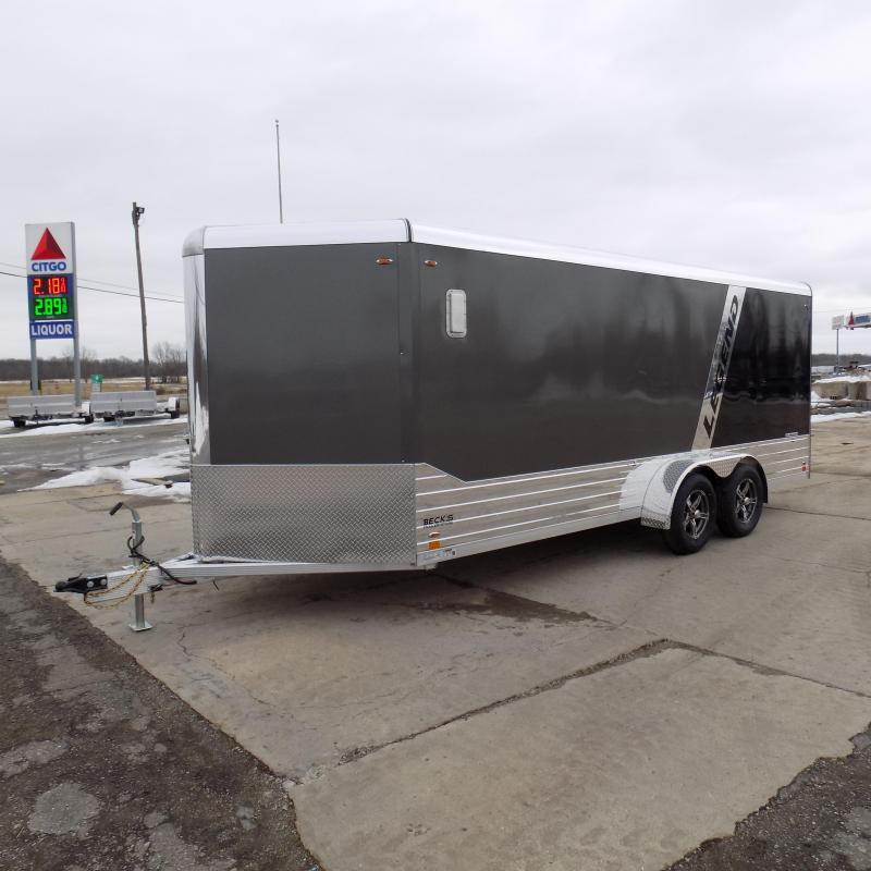 New Legend Deluxe V Nose 7' X 21' Enclosed Cargo Trailer For Sale