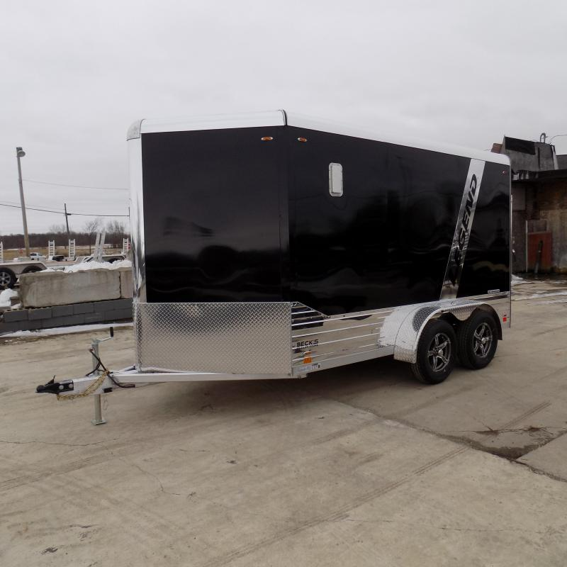 New Legend Deluxe V Nose 7' x 15' Aluminum Enclosed Cargo Trailer for Sale- $0 Down Payments From $129/mo. W.A.C