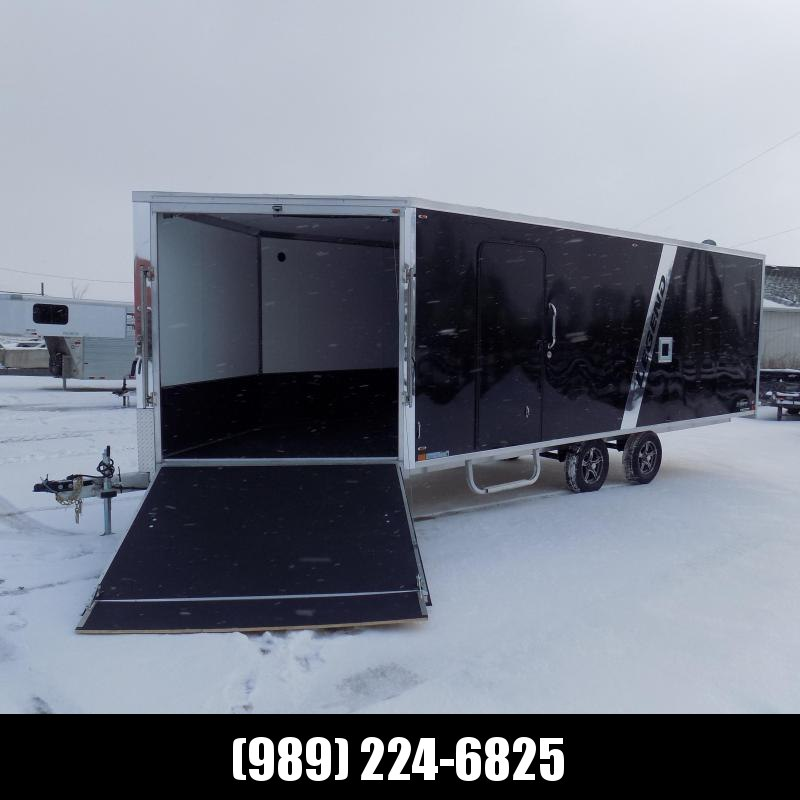 New Legend Explorer 8.5' x 28' Deckover Snowmobile Trailer - $0 Down & Payments From $175/mo. W.A.C.