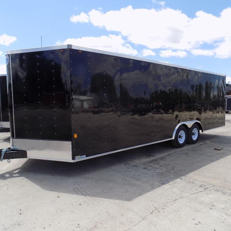 New Interstate 8.5' x 24' Enclosed Car Hauler Trailer for Sale