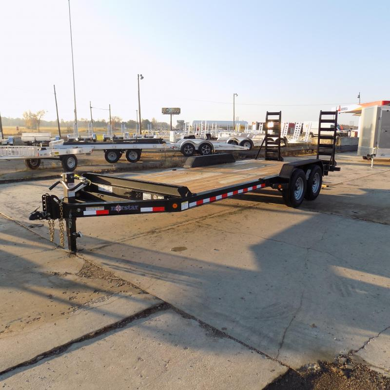 """New Norstar 83"""" x 20' Equipment Trailer - $0 Down & Payments From $122/mo. W.A.C. - Best Deal Guarantee"""
