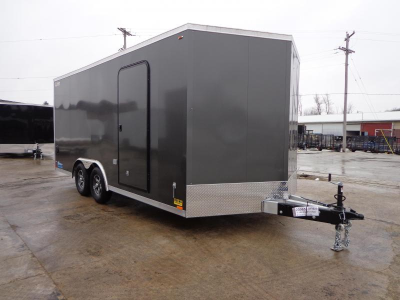 New Legend 7' x 20' Aluminum Open Car Hauler With Aluminum