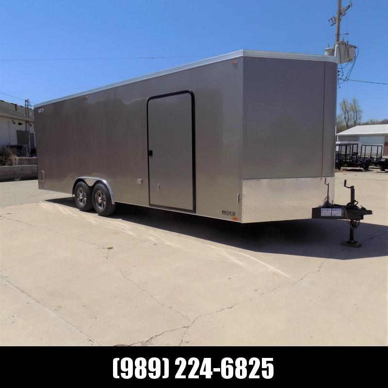 New Legend Cyclone 8.5' x 26' Enclosed Car Hauler Trailer With Torsion Axles - $0 Down Payments From $135/Mo W.A.C