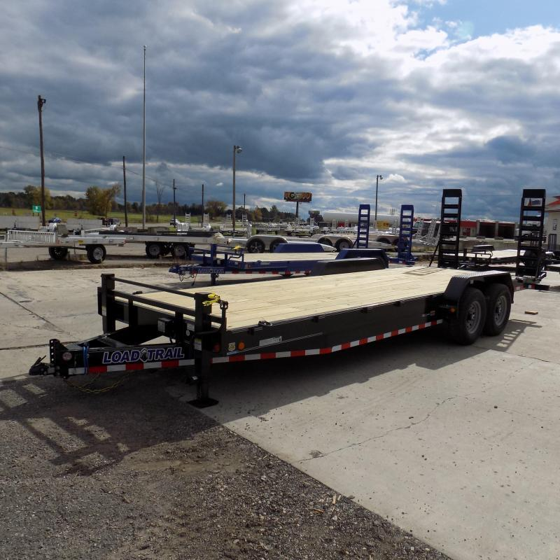 "New Load Trailer 83"" x 24' Car/Equipment Trailer For Sale - $0 Down & Payments from $129/mo. W.A.C."