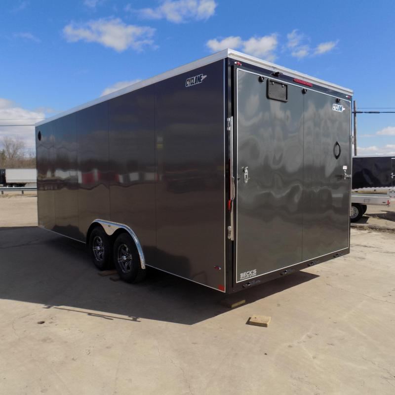 New Legend Cyclone 8.5' x 22' Enclosed Car Hauler Trailer for Sale- $0 Down Payments From $110/Mo W.A.C.