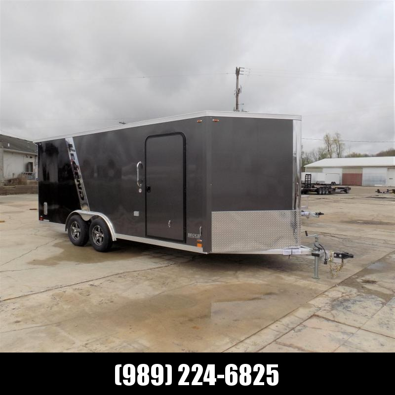 New Legend FTV 8' x 21' Heavy Duty Aluminum Trailer - $0 Down & Payments From $139/mo. W.A.C.