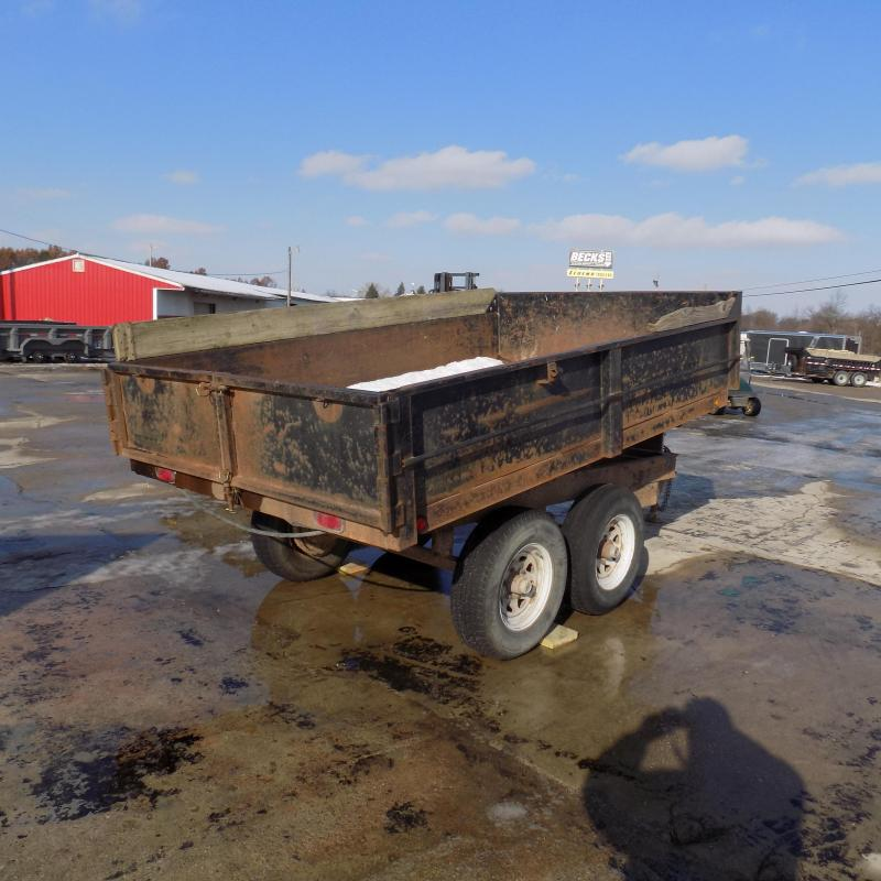 Used Forest River 6' x 10' Dump Trailer For Sale